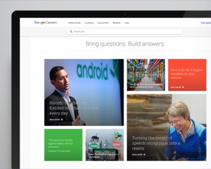 Google Careers Redesign